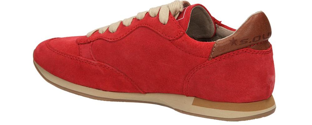 SPORTOWE S.OLIVER 5-23601 kolor czerwony