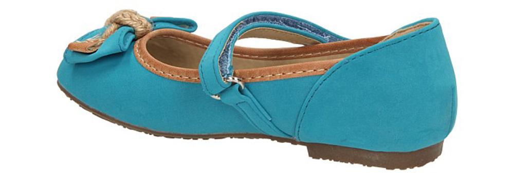 BALERINY AMERICAN K1130-A22 kolor niebieski