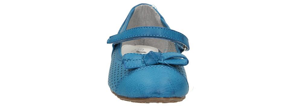Dziecięce BALERINY AMERICAN K3008-A35 niebieski;;
