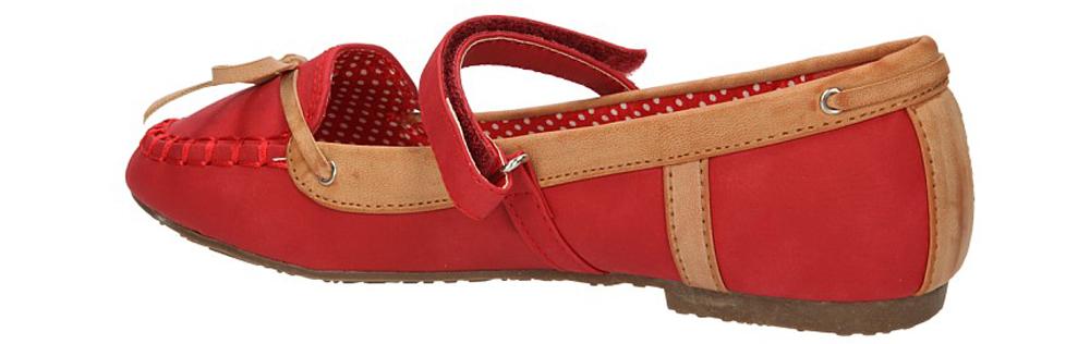 BALERINY K3008-A37 kolor czerwony
