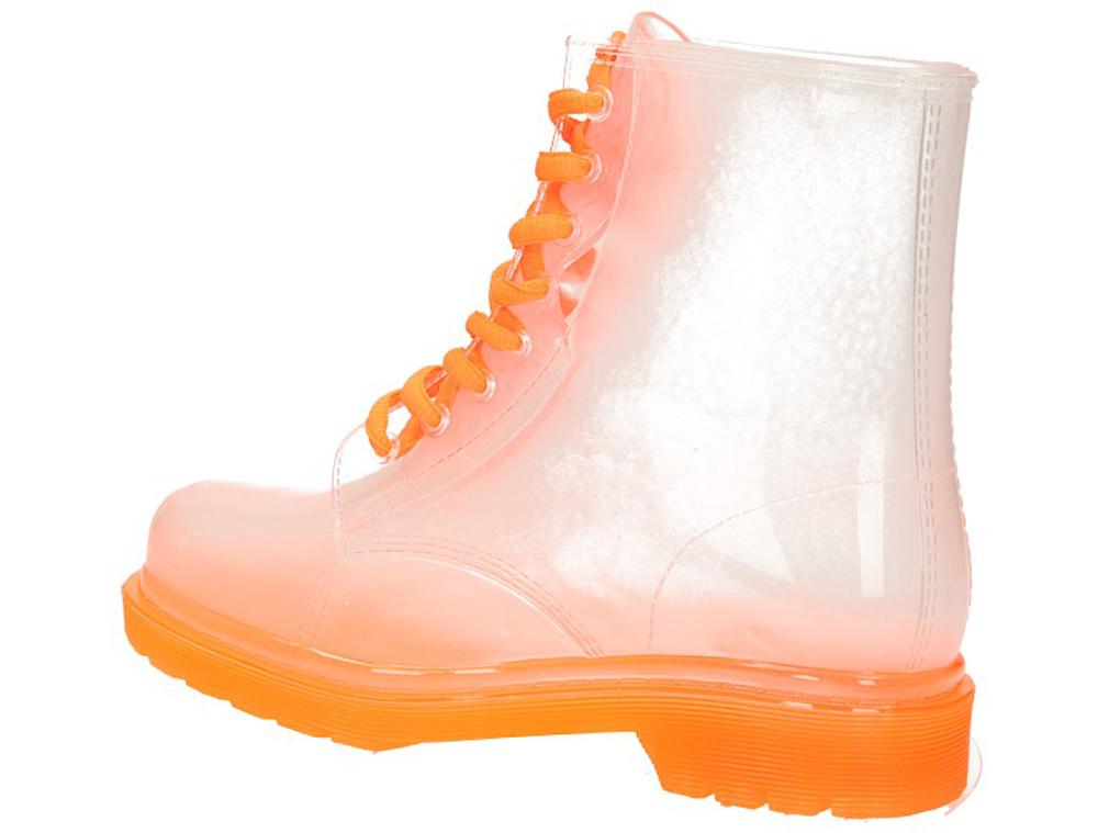 KALOSZE CASU A02 kolor biały, pomarańczowy