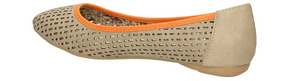 VINCEZA R13-D-P-72-GR kolor pomarańczowy, szary