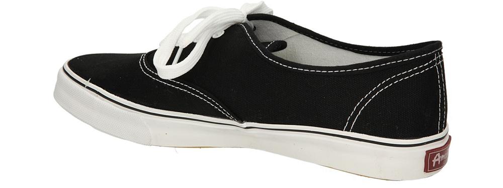 TRAMPKI AMERICAN LH-2013-63-1 kolor biały, czarny