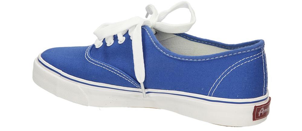 TRAMPKI AMERICAN LH-2013-63-5 kolor biały, niebieski