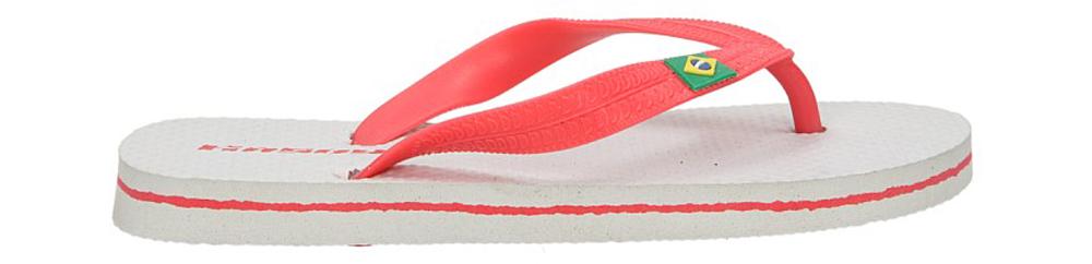 Dziecięce JAPONKI K329D biały;czerwony;