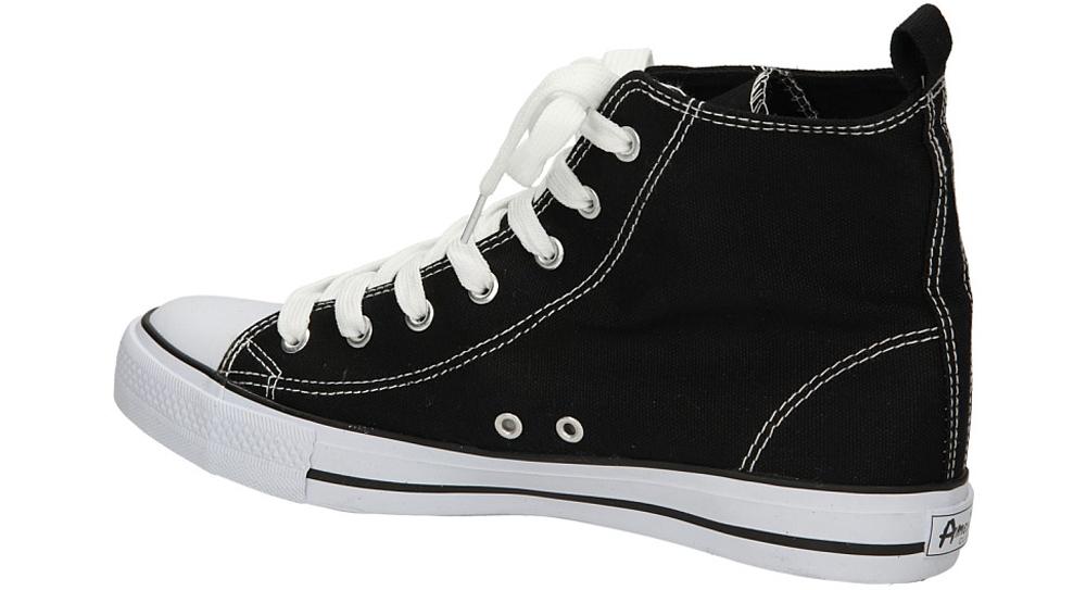 TRAMPKI AMERICAN LH-9120-10 kolor biały, czarny