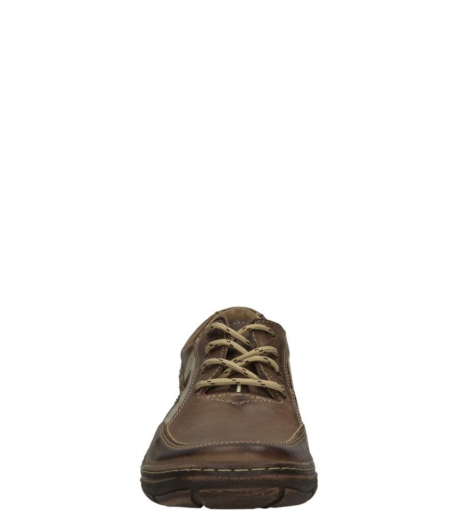 Męskie PÓŁBUTY WINDSSOR 324 brązowy;beżowy;