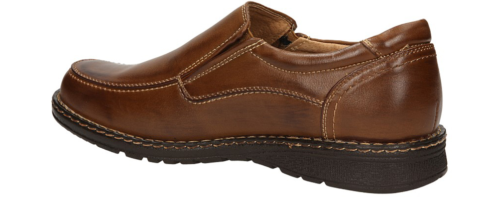 PÓŁBUTY CASU T6803-26 kolor jasny brązowy