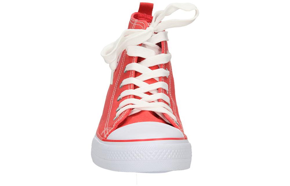 Damskie TRAMPKI AMERICAN LH-9120-9 czerwony;biały;
