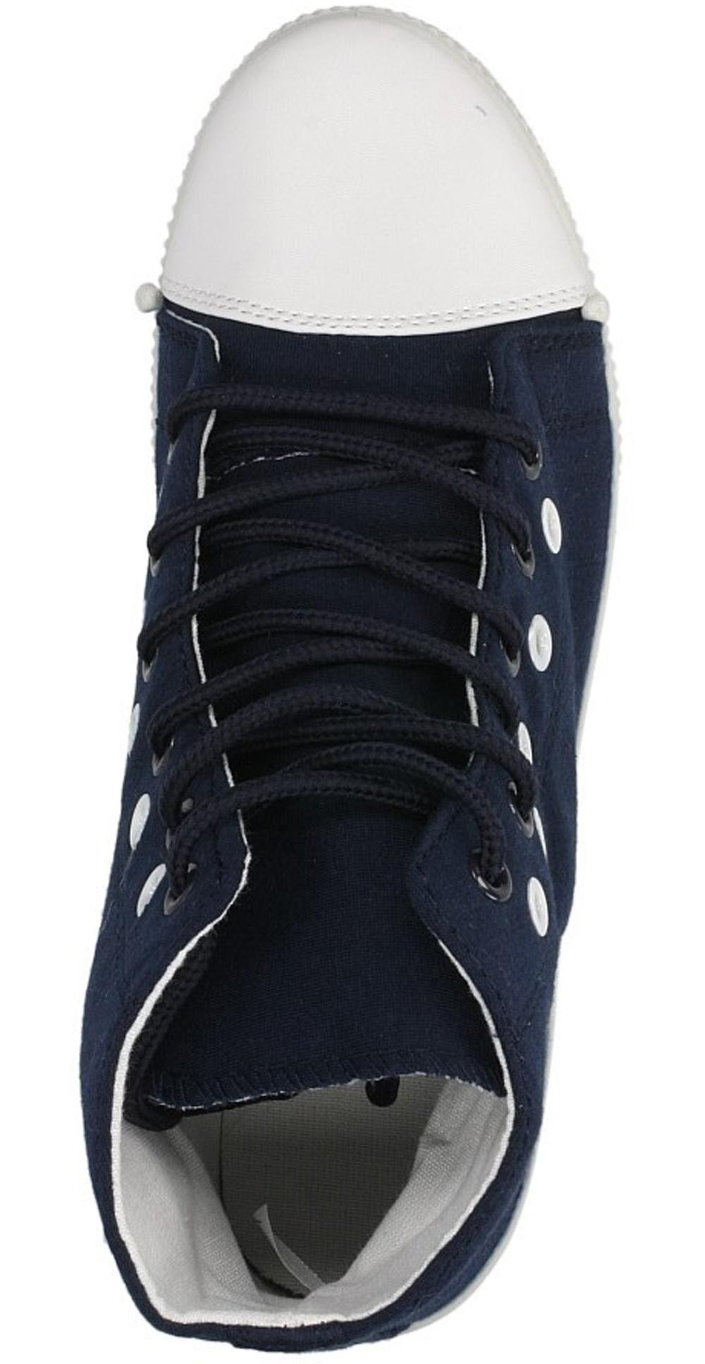 Damskie CREEPERSY CASU H201 niebieski;;