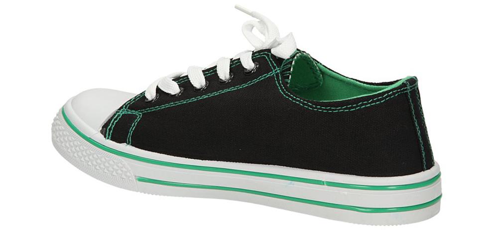 TRAMPKI 123808 kolor czarny, zielony