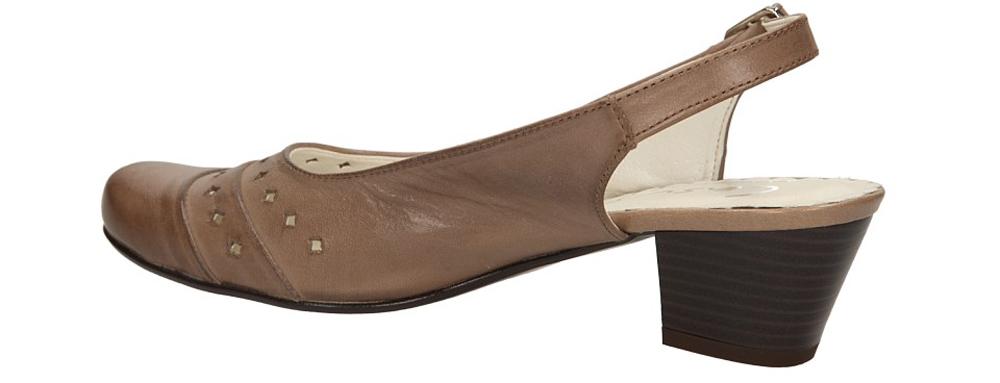 CZÓŁENKA CASU L23 kolor cappucino