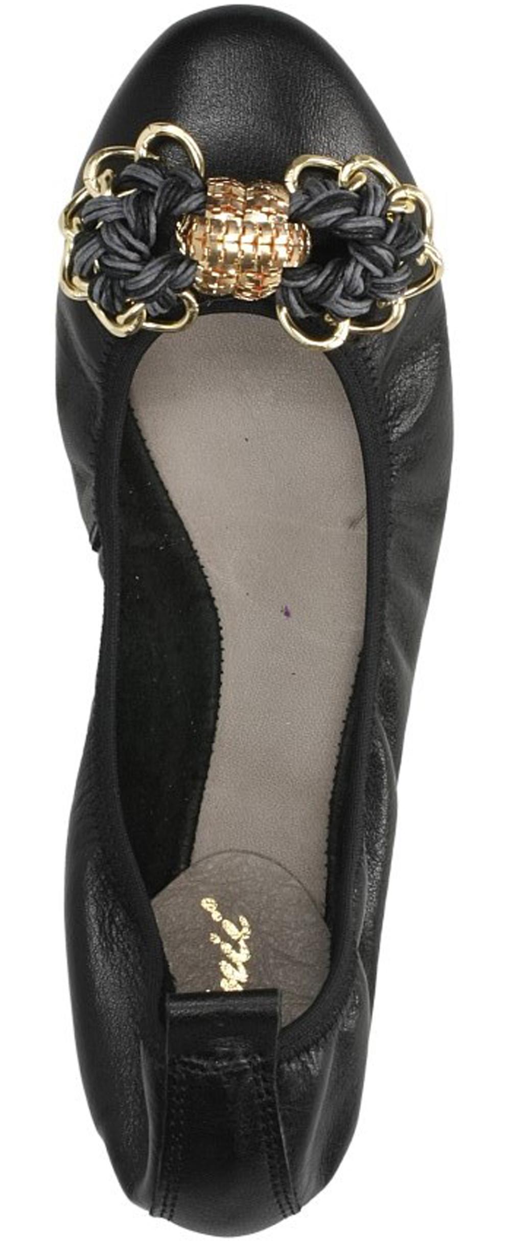 BALERINY CARINII MK1816 kolor czarny