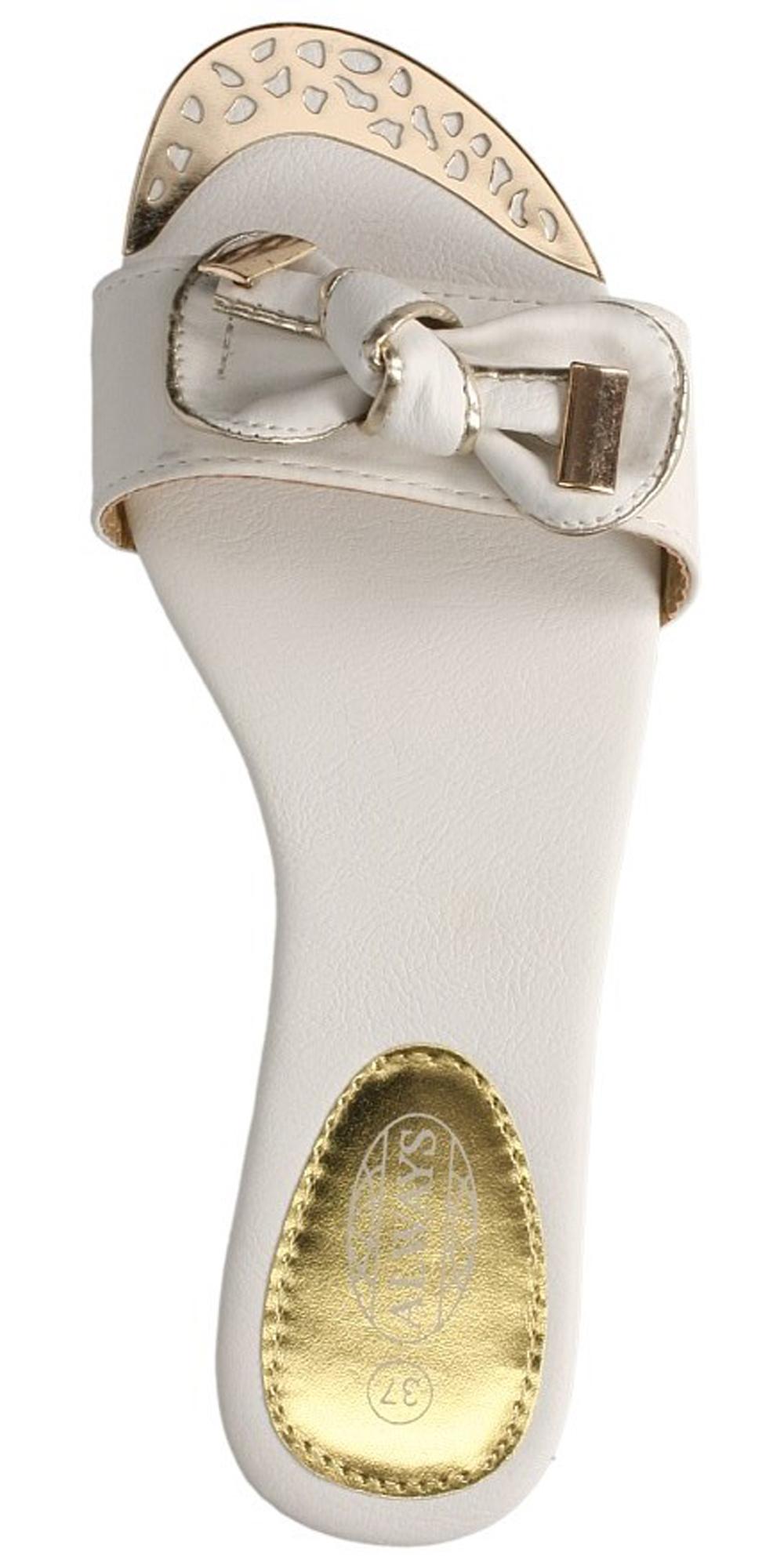 Damskie KLAPKI CASU 6730-2 biały;;