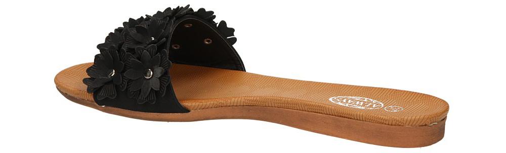 KLAPKI CASU AH85801-1 kolor czarny