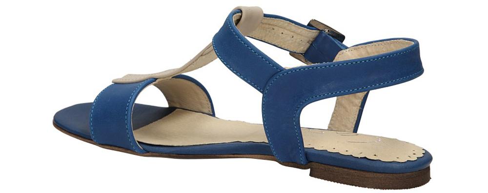 Damskie SANDAŁY CASU 06 niebieski;;