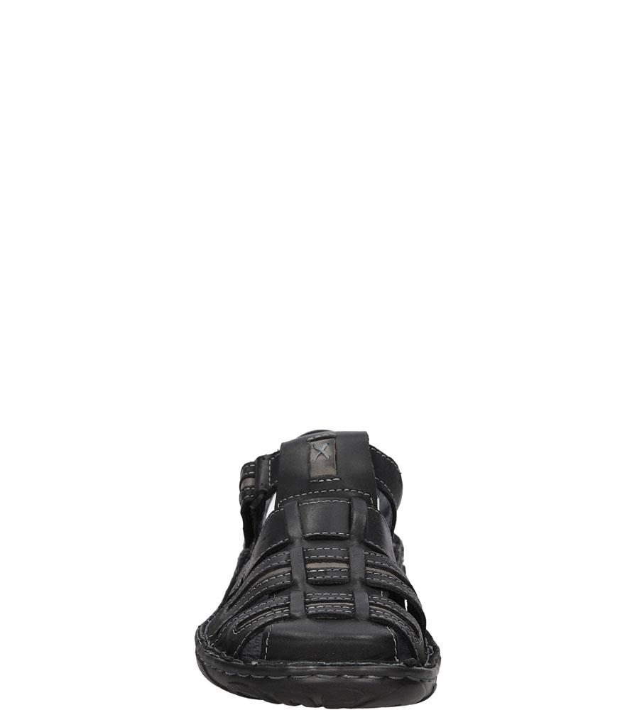 Sandały skórzane Windssor 230 kolor czarny