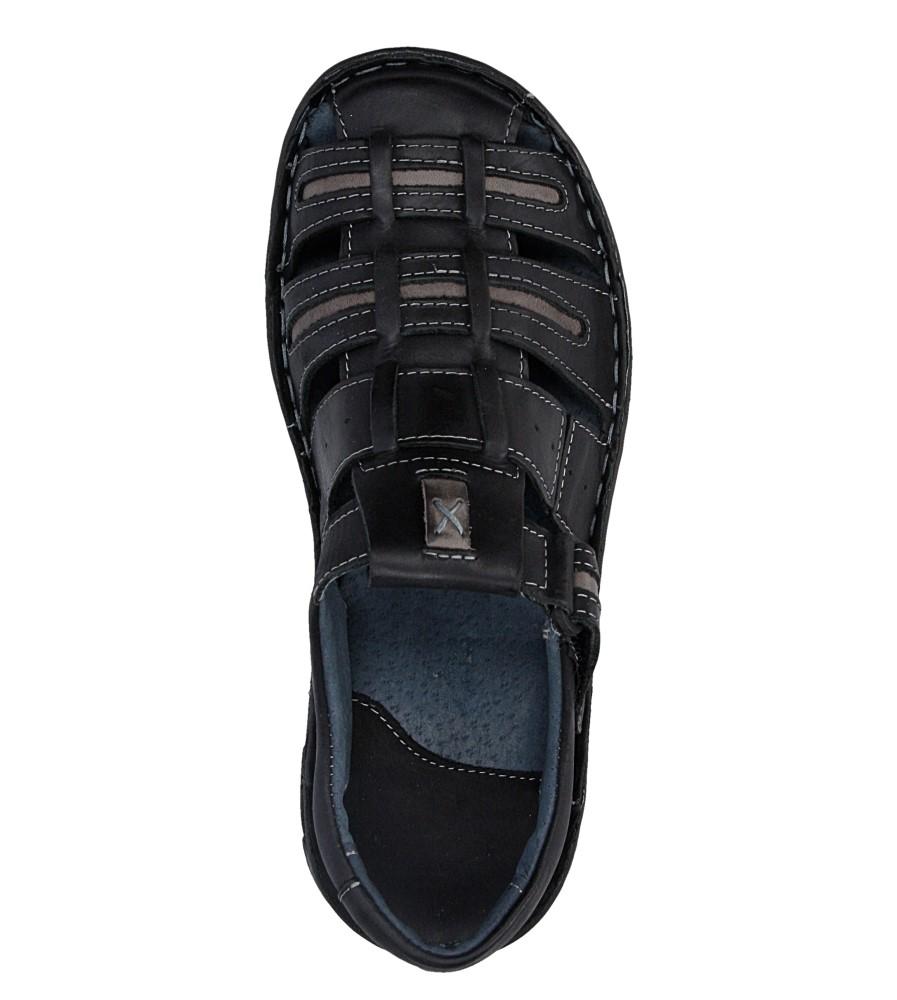 Sandały skórzane Windssor 230 wys_calkowita_buta 12 cm