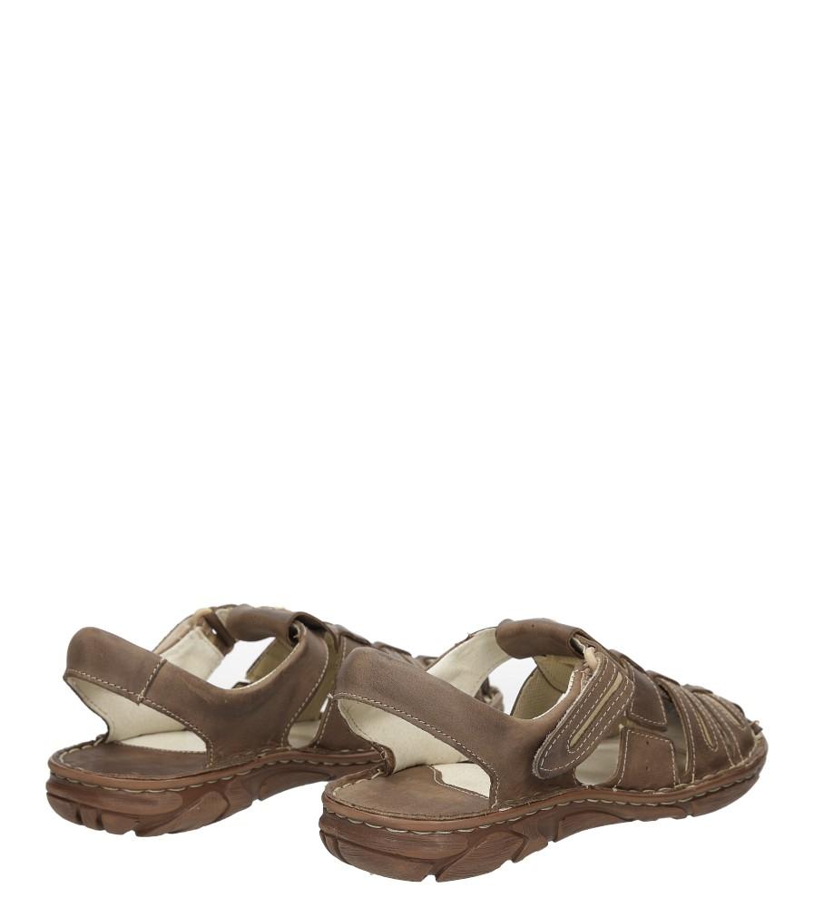 Sandały skórzane Windssor 230 wnetrze skóra