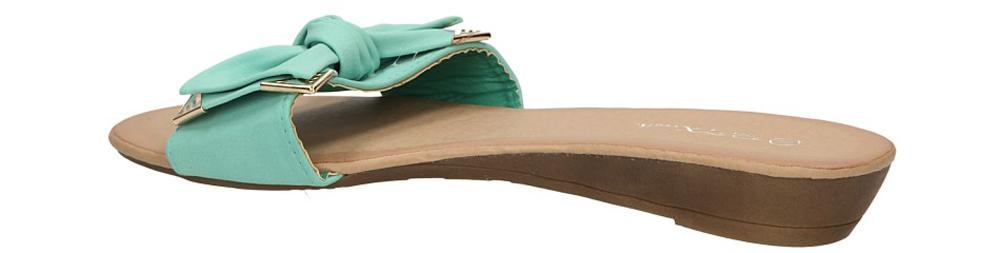 KLAPKI CASU 7-3J831D kolor miętowy