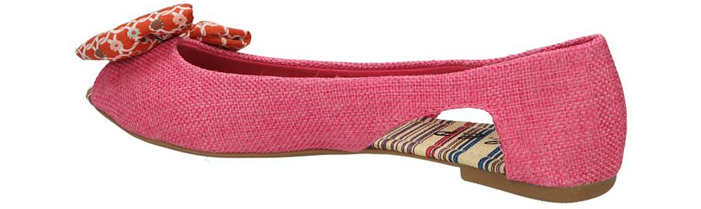 BALERINY CASU LJ05-3 kolor różowy