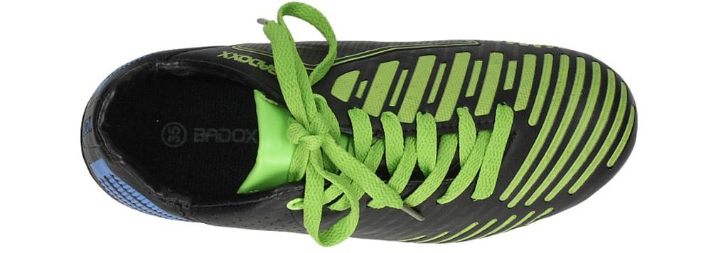 Dziecięce SPORTOWE 5FB1390 czarny;zielony;