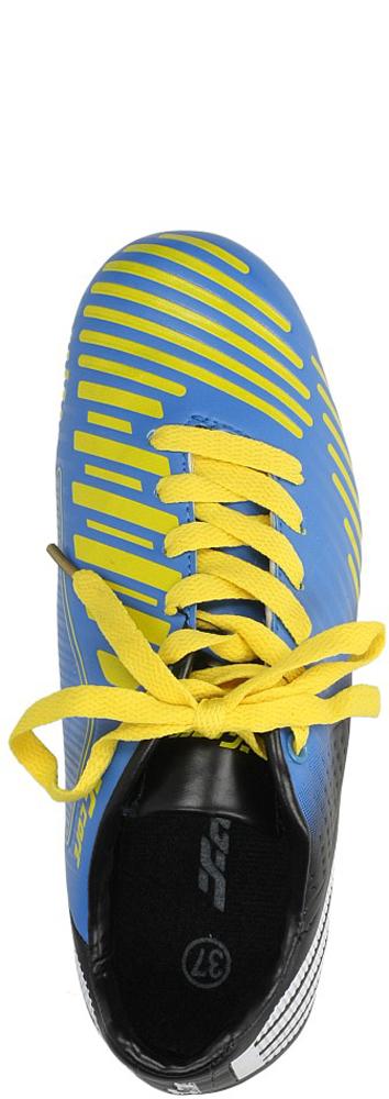 Męskie SPORTOWE LFB1390 niebieski;czarny;złoty