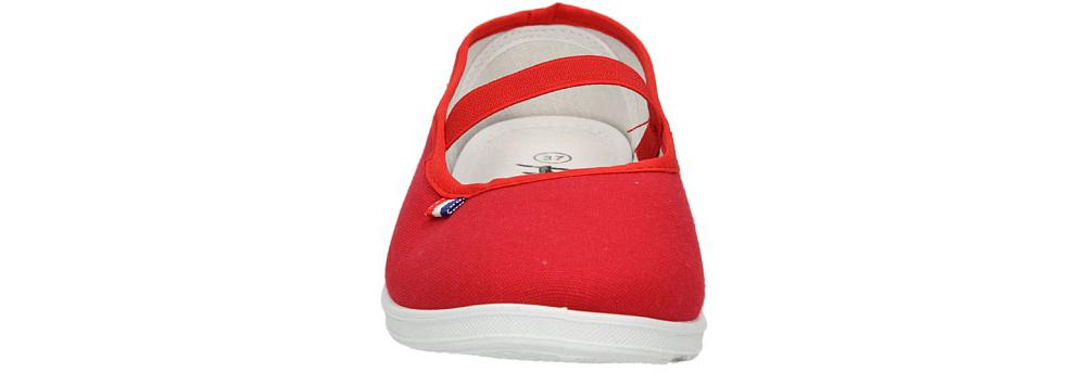 Damskie TENISÓWKI AMERICAN CA283-04624 czerwony;;