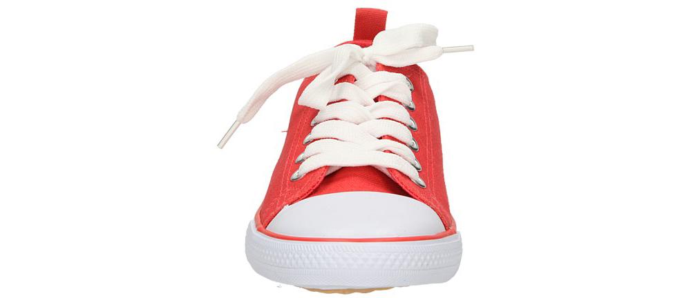 Dziecięce TRAMPKI AMERICAN LH-2013-60-1B czerwony;biały;