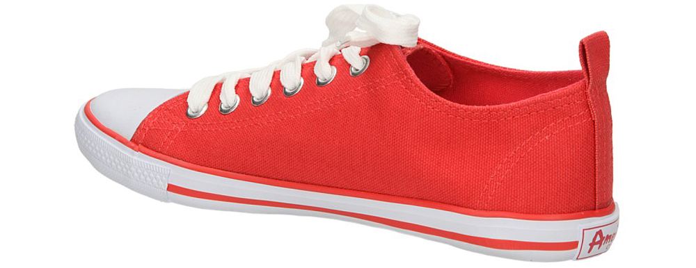 TRAMPKI AMERICAN LH-2013-60-1B kolor biały, czerwony