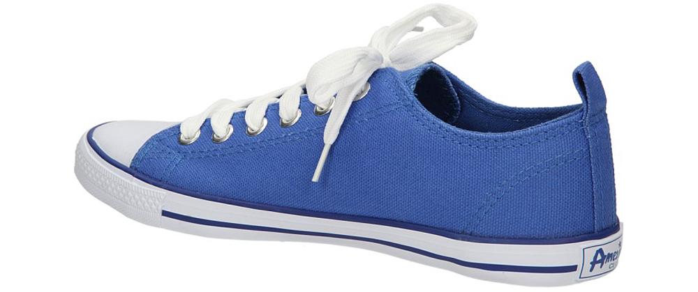 TRAMPKI AMERICAN LH-2013-60-1A kolor biały, niebieski