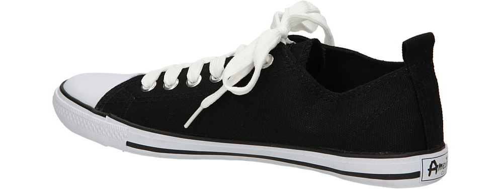 TRAMPKI AMERICAN LH-2013-60-1 kolor biały, czarny