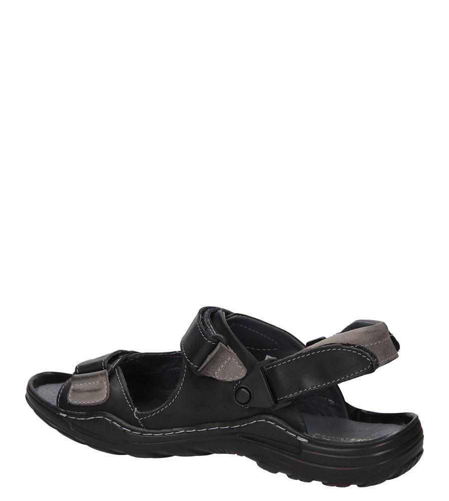 Sandały skórzane Windssor 362 wysokosc_platformy 3 cm