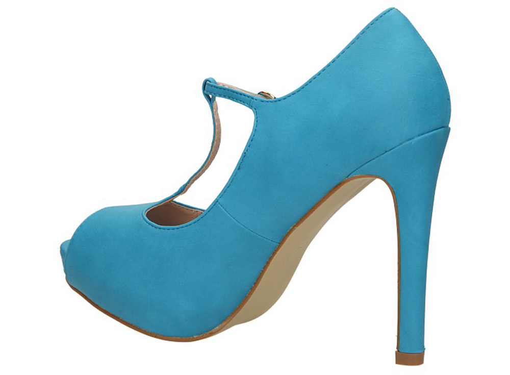 SZPILKI CASU CLARA'S 307 kolor błękitny