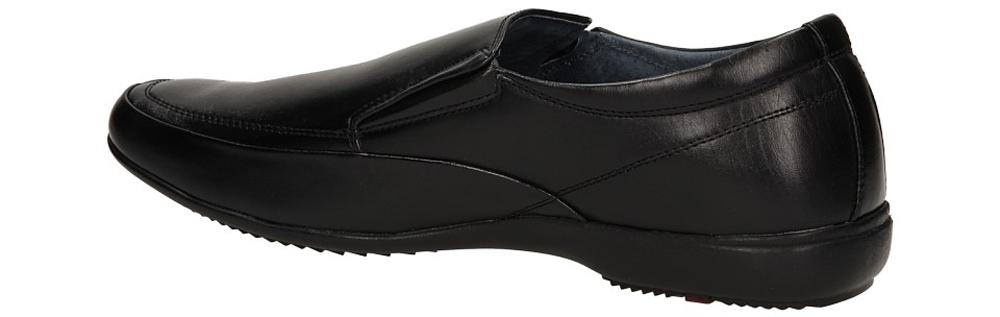 MOKASYNY CASU L696-6 kolor czarny
