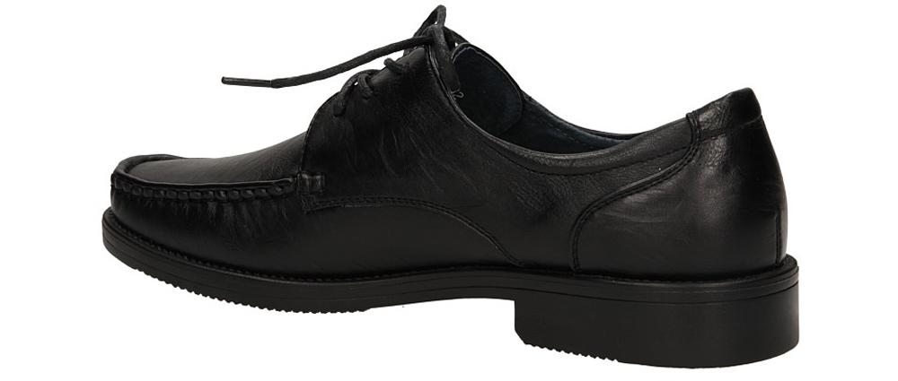 MOKASYNY CASU A03202-1 kolor czarny