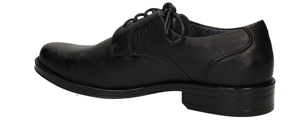 WIZYTOWE CASU A08602-1 kolor czarny