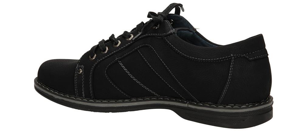 PÓŁBUTY CASU A07003-1 kolor czarny