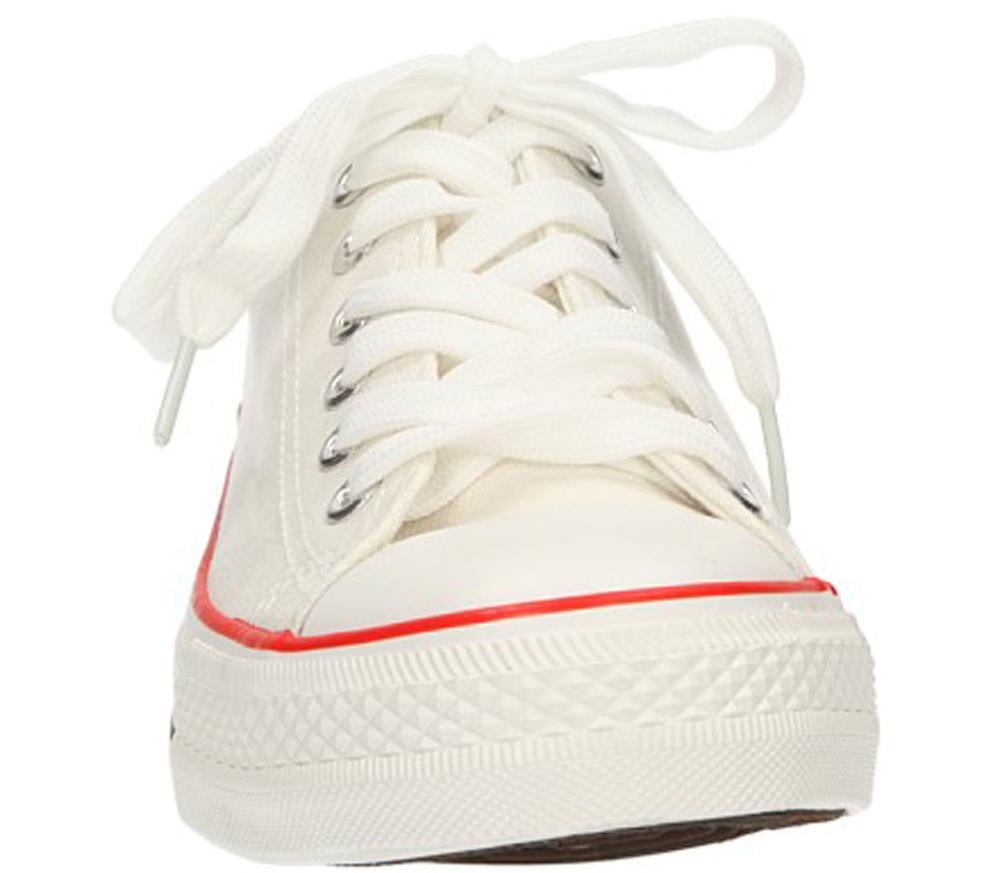 Damskie TRAMPKI CASU BK-201 biały;;