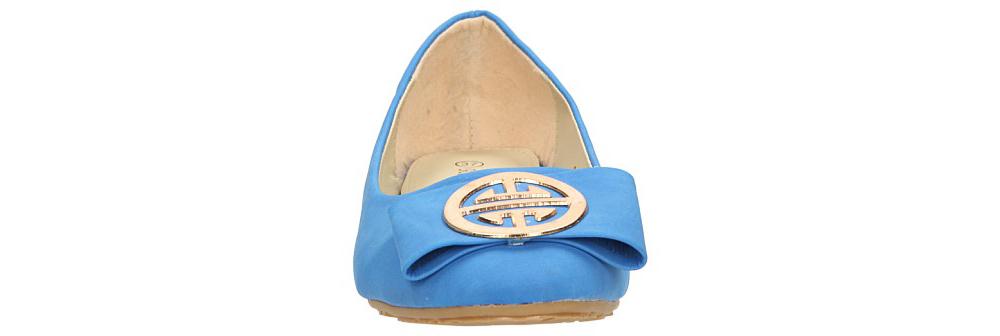 Damskie BALERINY CASU C57 niebieski;;