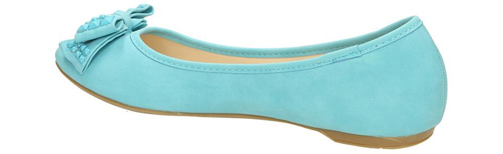 BALERINY CASU DS3502 kolor niebieski