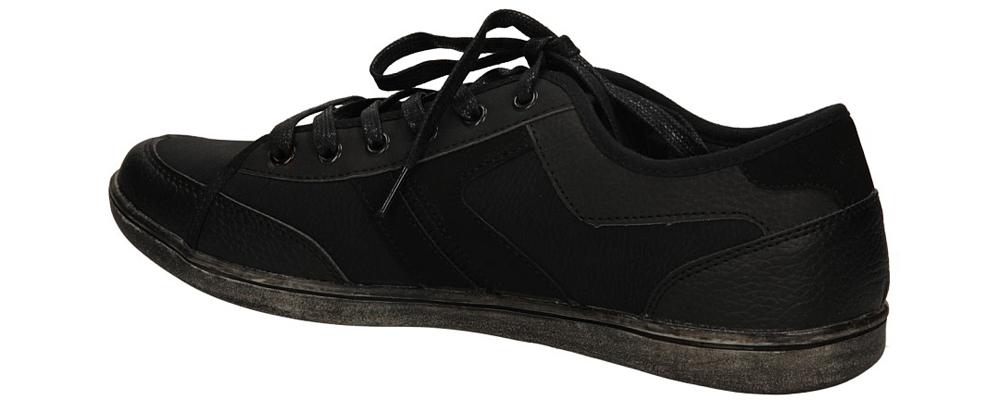 PÓŁBUTY CASU A9387 kolor czarny