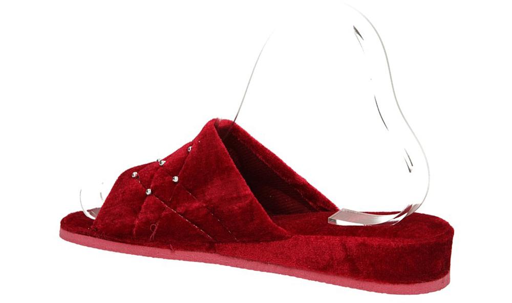 Damskie OBUWIE CASU DOMOWE QD-3 ( czerwony;;