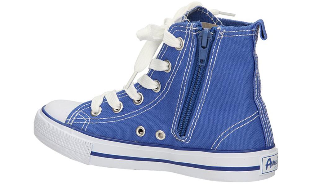 TRAMPKI AMERICAN LH-9120-2B kolor biały, niebieski