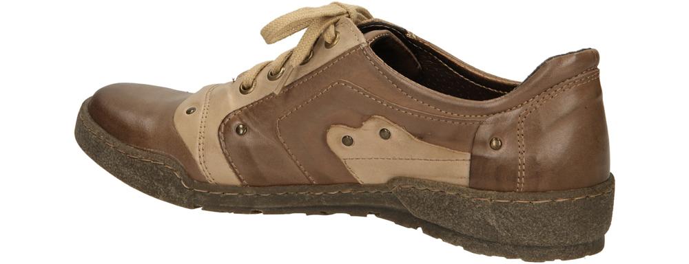 PÓŁBUTY CASU 099 kolor cappucino