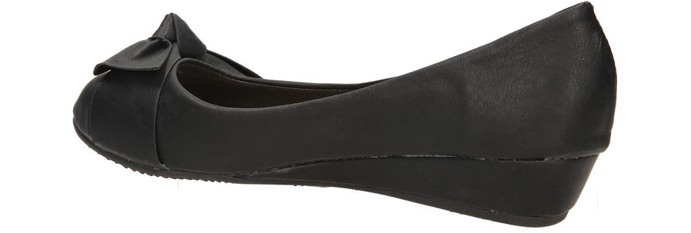 BALERINY CASU 2001-11 kolor czarny