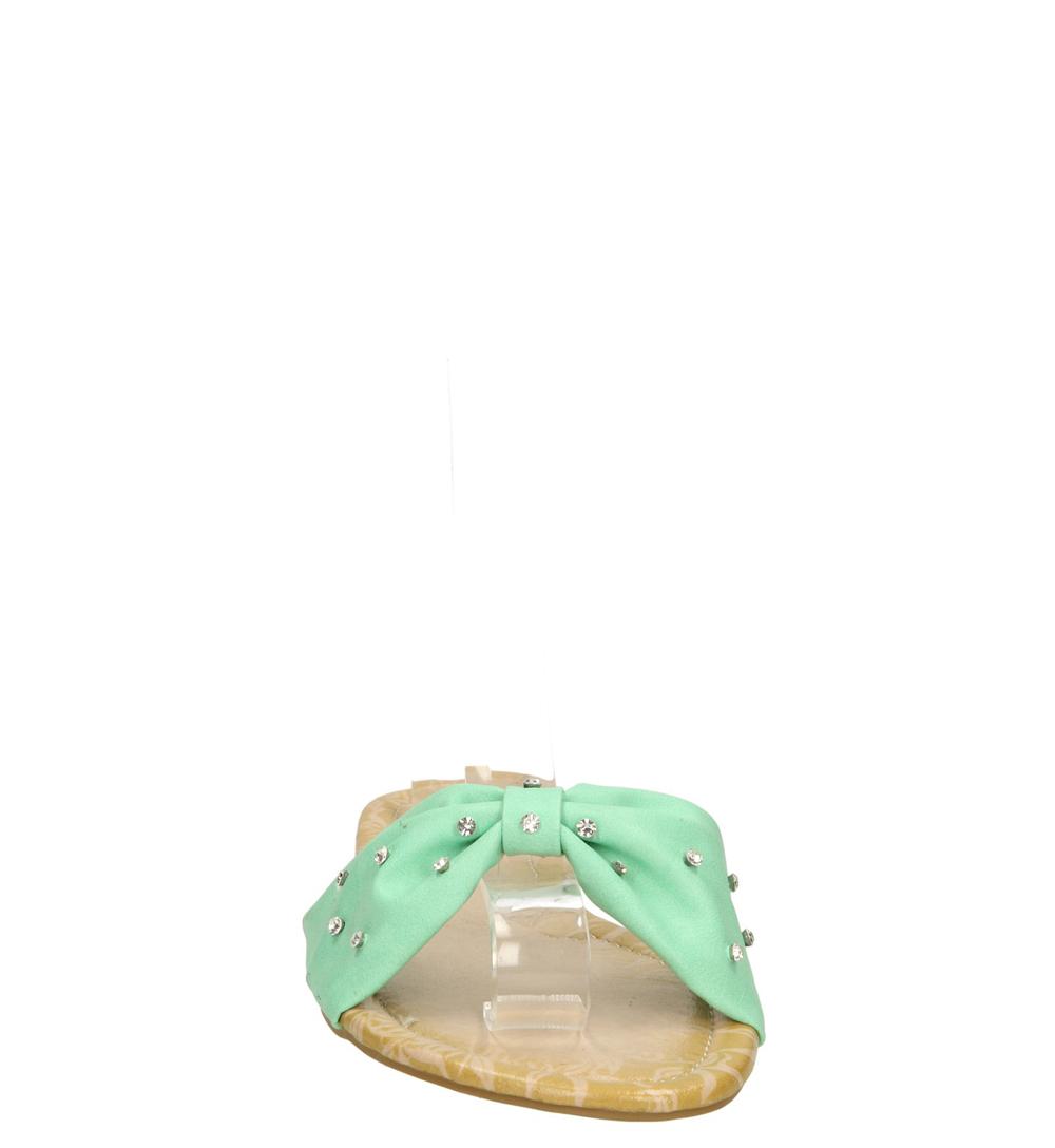 KLAPKI CASU 168-6 kolor zielony
