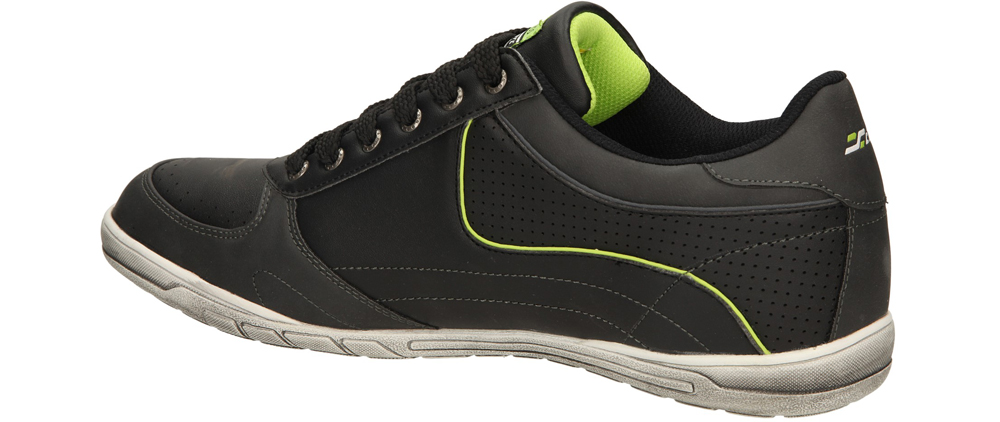 SPORTOWE CASU EXC6334 kolor czarny, jasny zielony