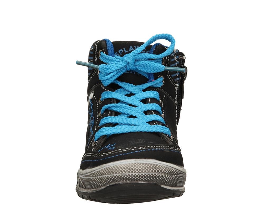 Dziecięce SPORTOWE 5XC6525 czarny;niebieski;