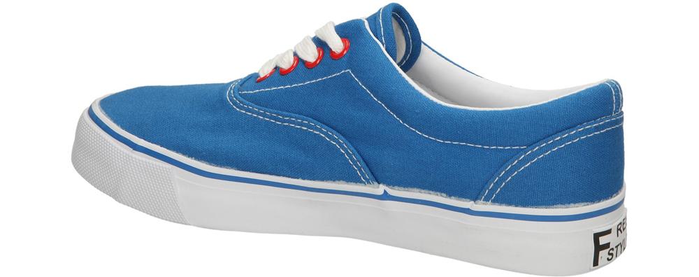 TRAMPKI CASU 412-261 kolor niebieski